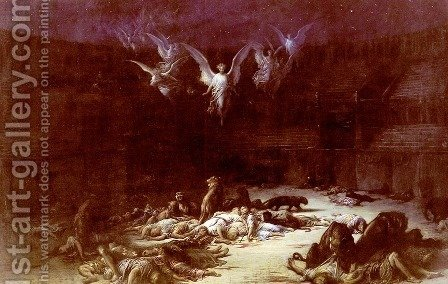 The Christian Martyrs by Gustave Dore - Reproduction Oil Painting