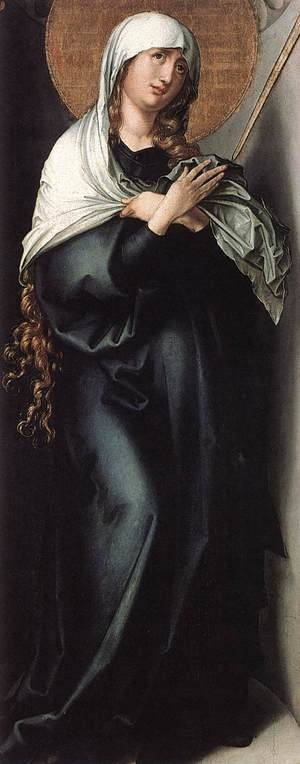 Reproduction oil paintings - Albrecht Durer - The Seven Sorrows of the Virgin: Mother of Sorrows