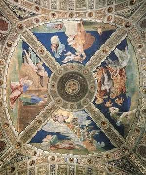 Reproduction oil paintings - Raphael - Ceiling