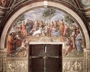 Reproduction oil paintings - Raphael - The Parnassus