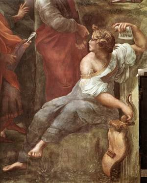 Reproduction oil paintings - Raphael - The Parnassus [detail: 5]