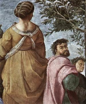Reproduction oil paintings - Raphael - The Parnassus [detail: 6]