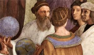Reproduction oil paintings - Raphael - The School of Athens [detail: 6]