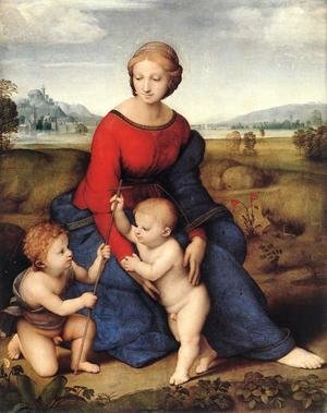 Reproduction oil paintings - Raphael - Madonna of Belvedere (or Madonna del Prato)