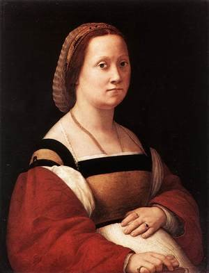 Reproduction oil paintings - Raphael - Portrait of a Woman (La Donna Gravida)