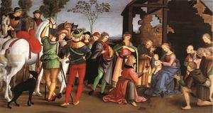 Reproduction oil paintings - Raphael - The Adoration of the Magi (Oddi altar)