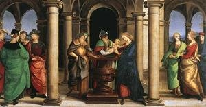 Reproduction oil paintings - Raphael - The Presentation in the Temple (Oddi altar, predella)