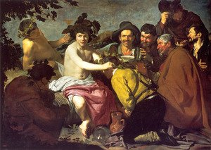 Los Borrachos (The Drunkards) (or The Triumph of Bacchus)