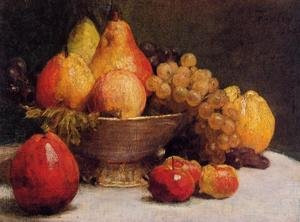 Famous paintings of Apples: Bowl of Fruit