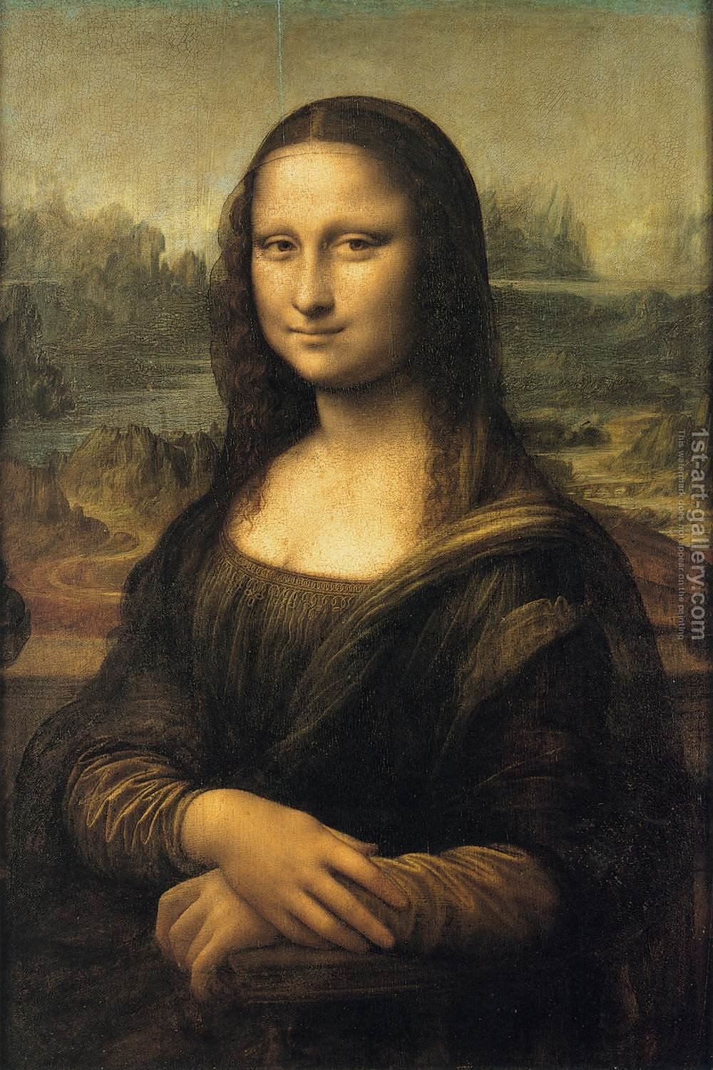 Huge version of Mona Lisa (or La Gioconda)