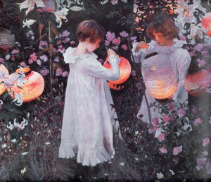 Sargent reproductions - Carnation, Lily, Lily, Rose
