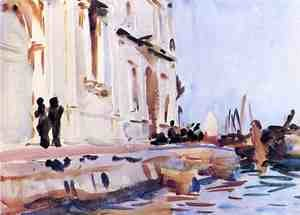 Reproduction oil paintings - Sargent - All' Ave Maria