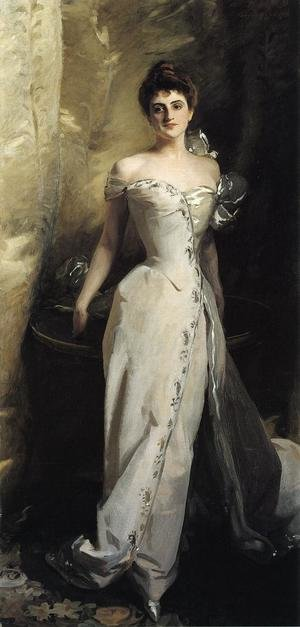 Reproduction oil paintings - Sargent - Mrs. Ralph Curtis