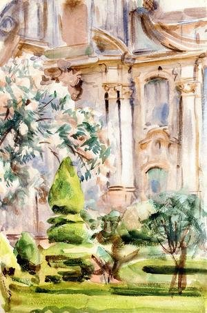 Reproduction oil paintings - Sargent - A Palace and Gardens, Spain