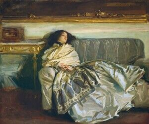 Famous paintings of Furniture: Nonchaloir (or Repose)