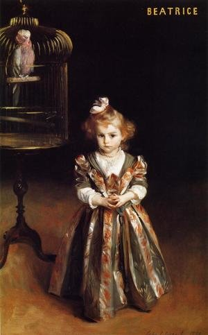 Reproduction oil paintings - Sargent - Beatrice Goelet