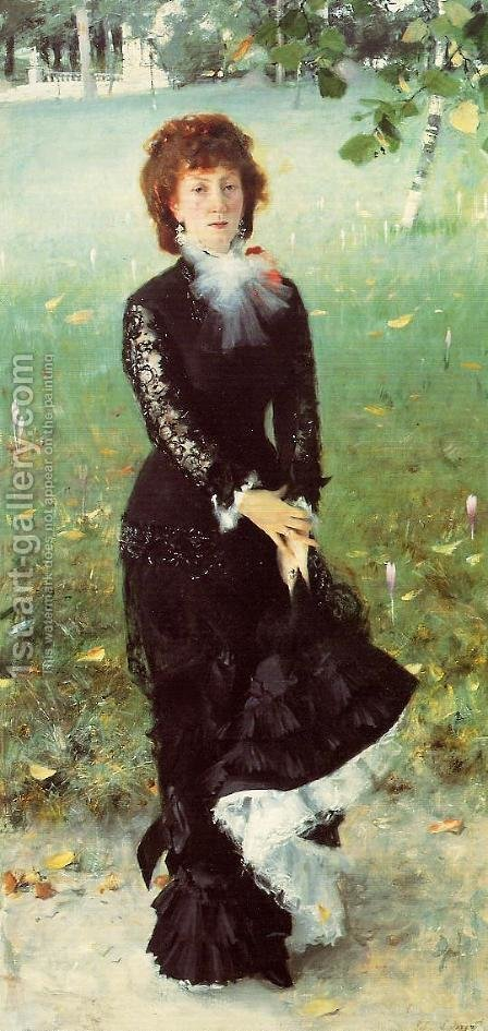 Madame Edouard Pailleron by Sargent - Reproduction Oil Painting