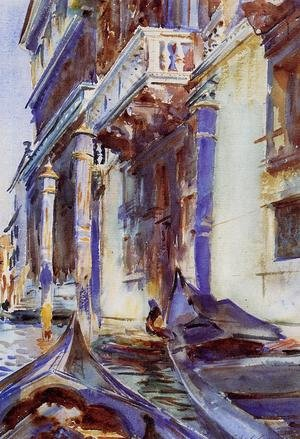 Reproduction oil paintings - Sargent - On the Grand Canal