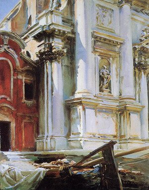 Reproduction oil paintings - Sargent - Church of St. Stae, Venice