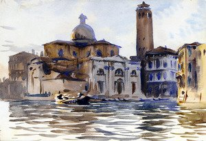 Reproduction oil paintings - Sargent - Palazzo Labia and San Geremia, Venice