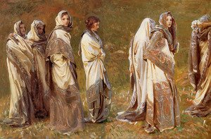 Reproduction oil paintings - Sargent - Cashmere