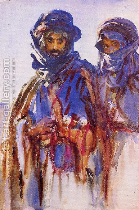 Sargent: Bedouins - reproduction oil painting