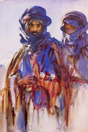 Reproduction oil paintings - Sargent - Bedouins