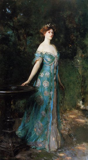 Famous paintings of Fountains: Millicent, Duchess of Sutherland
