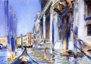 Reproduction oil paintings - Sargent - Rio dell'Angelo