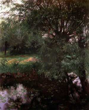 Reproduction oil paintings - Sargent - A Backwater at Wargrave