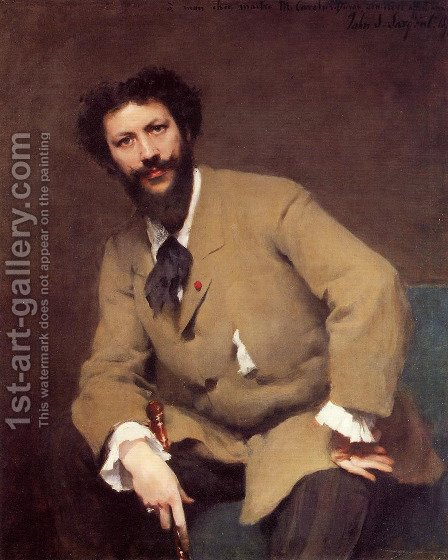 Carolus-Duran by Sargent - Reproduction Oil Painting