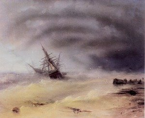 Reproduction oil paintings - Ivan Konstantinovich Aivazovsky - Storm