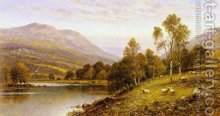 Early Evening, Cumbria by Alfred Glendening - Reproduction Oil Painting