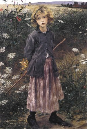 Reproduction oil paintings - Jules Bastien-Lepage - Young Girl