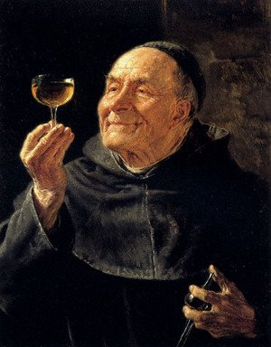 Famous paintings of Portraits: A Good Drink
