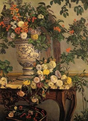 Frederic Bazille reproductions - Flowers