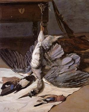 Reproduction oil paintings - Frederic Bazille - The Heron