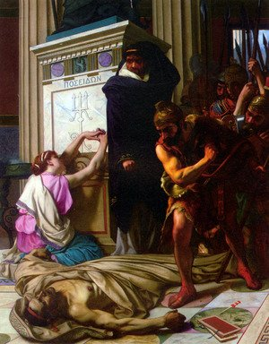 Camille Felix Bellanger reproductions - The Death of Demosthenes