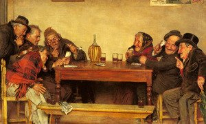 Famous paintings of Card Games: The Card Game (Pic 1)