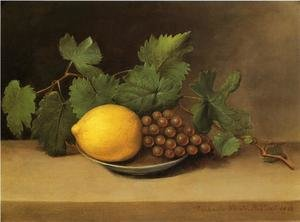 Reproduction oil paintings - Raphaelle Peale - Lemon and Grapes