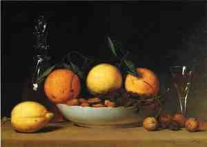 Reproduction oil paintings - Raphaelle Peale - A Dessert (or Still Life with Lemons and Oranges)