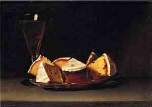 Reproduction oil paintings - Raphaelle Peale - Cake and Wine