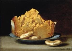 Reproduction oil paintings - Raphaelle Peale - Cheese and Three Crackers