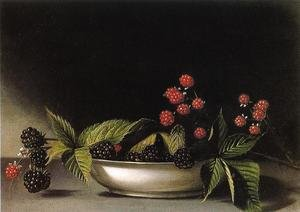 Reproduction oil paintings - Raphaelle Peale - Blackberries
