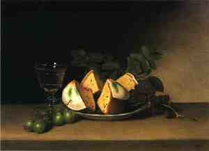 Reproduction oil paintings - Raphaelle Peale - Still Life with Cake
