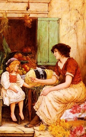 A Young Lacemaker