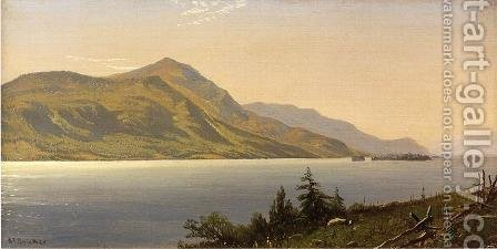 Tontue Mountain, Lake George (or Tongue Mountain, Lake George) by Alfred Thompson Bricher - Reproduction Oil Painting