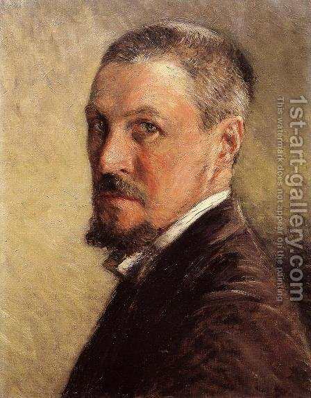 Self Portrait by Gustave Caillebotte - Reproduction Oil Painting
