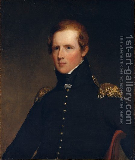 Major John Biddle by Thomas Sully - Reproduction Oil Painting