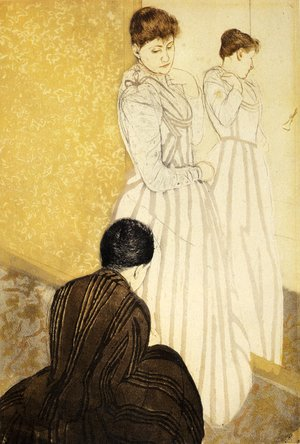 Reproduction oil paintings - Mary Cassatt - The Fitting